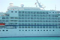 Cruise Ship, Key West Royalty Free Stock Photography