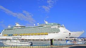 Cruise ship stock video