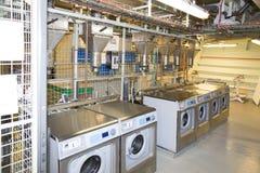 Cruise ship laundry Royalty Free Stock Photo