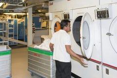 Cruise ship laundry Stock Photography