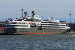 Cruise ship Le Boreal. Stock Photo