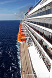 Cruise Ship Lifeboats Stock Photos