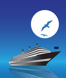 Cruise Ship. Stock Images