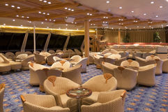Cruise ship lounge Stock Photos