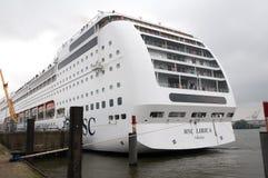 Cruise ship - Lyrica Royalty Free Stock Images