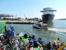 Cruise ship-Mein Schiff 4 Stock Photos