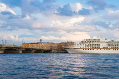 Cruise ship MS Europa Stock Images