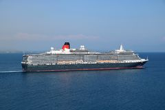 Cruise ship MS Queen Victoria Royalty Free Stock Photography