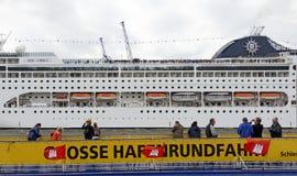 Cruise ship MSC Lirica Royalty Free Stock Photos