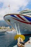 Cruise ship MV Azura in the port of Monaco Stock Photos
