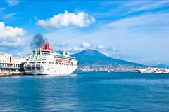 The cruise ship Stock Photography
