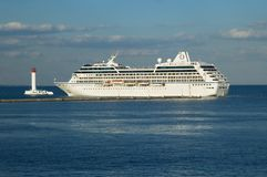 Cruise ship Nautica Royalty Free Stock Photos