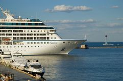 Cruise ship Nautica Stock Image