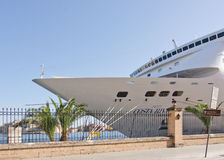 Cruise ship Neo Costa Riviera Stock Images