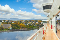 Cruise Ship, Norway Royalty Free Stock Photography