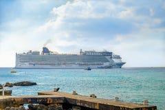 Cruise Ship-Norwegian Epic stock images