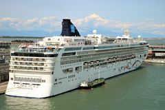 Cruise ship Norwegian Star Stock Photography