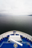Cruise Ship Open Ocean Royalty Free Stock Photos