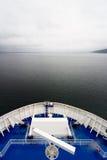 Cruise Ship Open Ocean Royalty Free Stock Photos