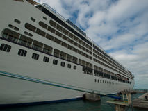 Cruise Ship. Parked at Mallory Square on Key West, Florida Stock Images