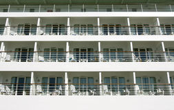 Cruise ship passenger cabins Royalty Free Stock Photo