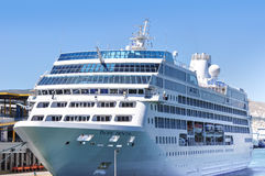 Cruise ship, Piraeus, Greece Royalty Free Stock Photo
