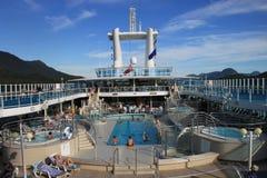 Cruise-ship pool Royalty Free Stock Image