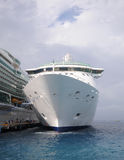 Cruise ship in port Royalty Free Stock Image