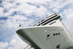 Cruise ship at port Royalty Free Stock Photo