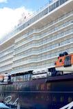 Cruise Ship in Port Stock Photos