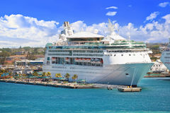 Cruise Ship at port Stock Photography