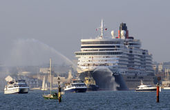 Cruise ship Port of Southampton UK Royalty Free Stock Photography