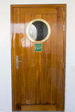 Cruise ship porthole Royalty Free Stock Photography