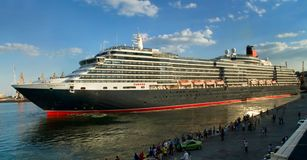 Cruise ship Queen Victoria Stock Photo
