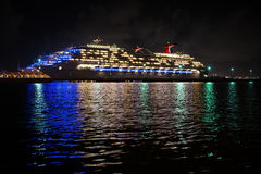 Cruise Ship reflection Stock Photography