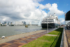 Cruise Ship, Rotterdam Stock Photos