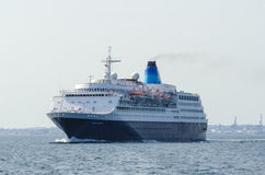 Cruise ship Saga Sapphire Royalty Free Stock Photography