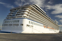 Cruise Ship. In the sea port Stock Photography