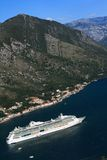 Cruise ship Serenade of the Seas, Montenegro. September 23, 2014 Royalty Free Stock Photos