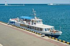 Cruise ship Sevastopol Royalty Free Stock Photo