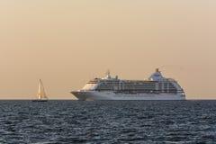 Cruise ship Seven Seas Voyager Royalty Free Stock Image