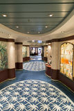 Cruise ship spa lounge Stock Photography