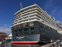 Cruise ship in Stavanger. Royalty Free Stock Photography