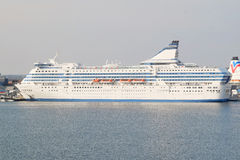 Cruise ship in Stockholm, Sweden Stock Photography