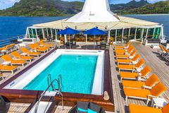 Free Cruise Ship Swimming Pool Royalty Free Stock Images - 102513119
