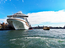 Cruise Ship, Sydney Harbour, Australia Stock Photography