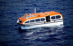 Cruise Ship Tender Boat Stock Image
