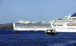 Free Cruise Ship Tender Service Royalty Free Stock Images - 124055639