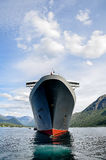 Cruise Ship with Tenders Stock Images
