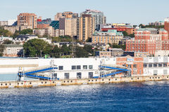 Cruise Ship Terminal in Halifax Stock Images